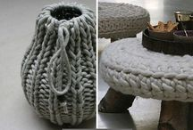Crocheted & knitted