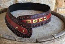 Vintage belts / Important accessories for important dresses (and waist!)