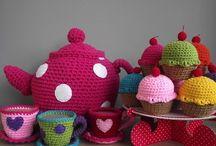 Felt/crochet play food