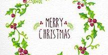 sleigh bells ringing / Merry Christmas