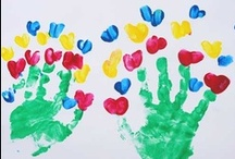 Pre-K Painting / Ways for Pre-K kids to Paint Year-Round