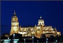 Salamanca, Castilla y León, España (Spain) / Imágenes de Salamanca (Comunidad de Castilla y León, España) y su provincia. / by Turismo en España - Tourism in Spain
