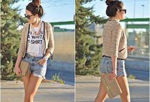 T Shirts are cool! / Inspirações para usar T shirt / by Mariana Bitencourt