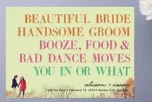 // Wedding Cuteness \\ / super cute general wedding ideas. / by Brittny Habibti