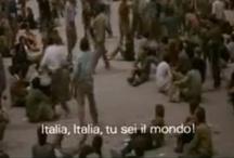"""Italia Italia / Alcune sequenze tratte da """"Lamerica"""" di Gianni Amelio (1994) montate insieme al trailer de """"La nave dolce"""" di Daniele Vicari (2012)."""