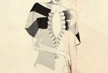 fashion illustration / by Elaine Field