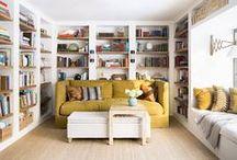 books on books / #homedecor #interiordesign #rusticmodern #bold #design #style #home #interior #living #book #reno #bookshelves