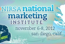 NIRSA Marketing Institute / Resources for participants at the NIRSA Marketing Institute in San Diego, CA.