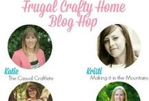 Frugal Crafty Home Blog Hop Features / Frugal Crafty Home Blog Hop goes live every Sunday at 8pm Central time.  This is a smaller blog hop which gives you a bigger chance of getting featured!  Every post that gets featured from Carrie This Home will be pinned here!