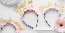 bridal party / bridesmaid dresses bridal shower ideas  bachelorettes