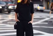 city slick / The smarter look to streetwear... loving a good heel and all black for some