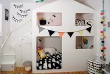 Cute stuff for kids rooms / Wonderful ideas for decorating a childs room.
