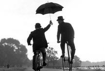 rain, umbrella, fog,