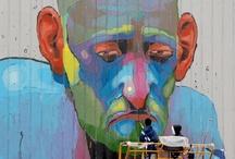 art, walls, street art