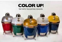 GRILL DOME / All things about our beloved Grill Dome Kamado Grill which comes in any color imaginable. Want your favorite team colors on your grill? We can do that!