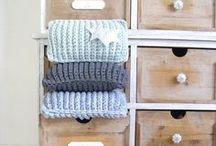 Le tricot/crochet et la déco