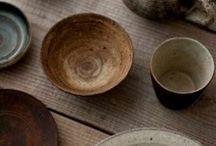 器 / Porcelaine et bois