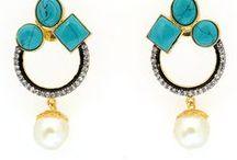 Earrings and Jhumkas / handmade earrings, pearl earrings, dangle earrings, dangle earrings, solitaire rings, jhumkas online, traditional jhumkas