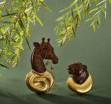 The Animal Kingdom / The wonder of animals inspires many of Elizabeth's pieces.