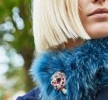 How To Wear: Pins / Elizabeth's pins are at the heart of her collections and there are so many ways to style them...