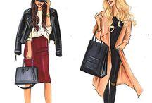 Moda illüstrasyonu