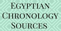 Egyptian chronology Sources / Egyptian chronology Sources