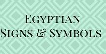 Egyptian signs & symbols