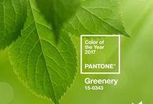 Pantone Spring Colour 2017: Greenery