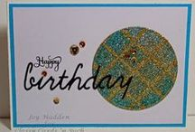 Birthday / Get inspired for your handmade birthday cards!