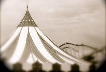 Vintage Circus / Vintage circus photos and interior inspiration