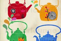 Tea Kettles ... / For water .... / by Chris