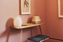 Pink Interiors / Interiors inspired by shades of pink, blush, dusky, radiant orchid, trend watching home design