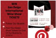 San Diego Intl Wine Show / April 26th & 27th at the Del Mar Fairgrounds on The Paddock! Wineries and Vendors from all over the world showcasing their best wines for you to enjoy! Must be 21 or older to attend.