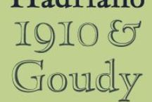 Sources / Some classic typefaces from the past that still inspire type designers today.