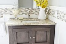 Just a little DIY... / DIY tips and tricks for your bathroom! #Wichitafalls