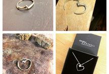 Bespoke Jewellery Manchester / Bespoke jewellery made for customers based on their own ideas.