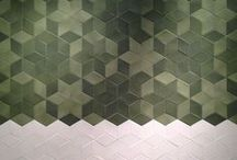 Tiles, Tiles, Tiles! / Patterned, geometric, encaustic, Mediterranean coloured tiles. An array of beautiful inspiring tile design