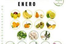 Comer de Temporada / ¿Sabes cuál es la fruta y verdura de temporada?