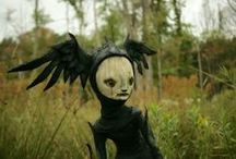 Creepy Characters / #weird #Character #creepy #Marionette #art #Automaton #Inspiration #Puppet #Oniric