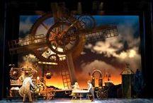 Scenery /  #Scenic #Design #Set #Theatre #Scenery #Inspiration #References  #SetDesign