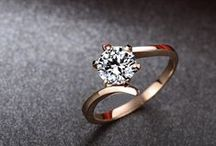 Red Gold Engagement Rings