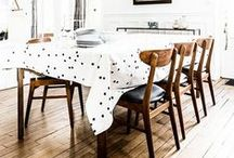 Dining spaces / Stylish and inspirational spaces to eat. Design ideas for dining rooms