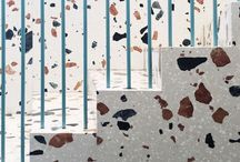 Terrazzo Interiors Trend / Interiors ideas and inspiration using terrazzo