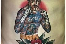 OldSchool Fighter Tattoos