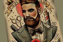 OldSchool Gentelmen Tattoos