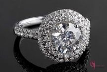 Round Cut Diamond Engagement Rings / We have round cut diamond engagement rings with a touch of sophistication and a lot of glitz and glamour. Visit www.usjewelryfactory.com for our full selection of round cut diamond rings.