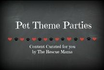 Pet Theme Parties / This board is a collection of products and ideas for pet theme parties that I curated for you!