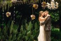 Wedding Decor Ideas with Plants-Green Weddings / We here at Rice Road want you to have the wedding of your dreams. We offer rental of our plants for weddings and receptions. Here are some inspirational pictures to show you how to use plants to enhance your wedding decor.