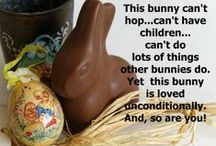 Eager for Easter / #Easter. #Eggs, #bunnies...