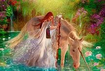 Fantasy and Fairies / #Fantasy, #Fairies, #Unicorns. #Dragons and other mysterious things.